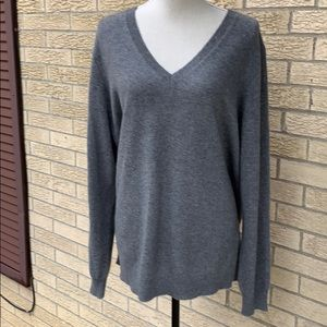 💯 Cashmere V-neck sweater, 3 X